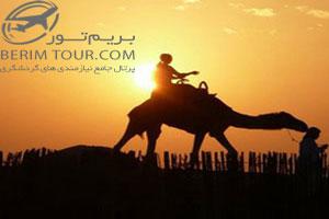 تور صحرا ابوظبی
