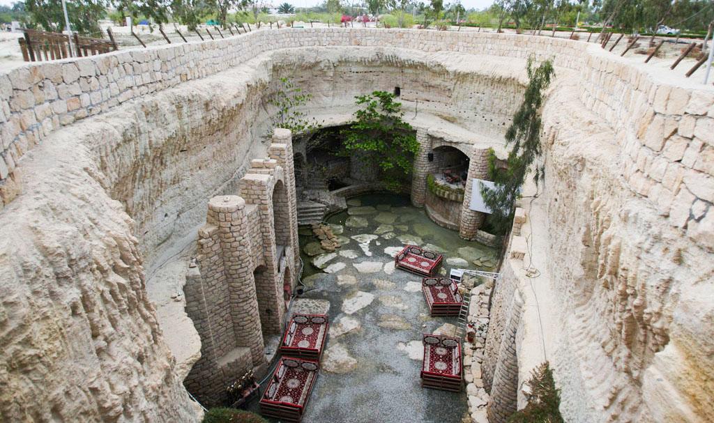 شهر زیر زمینی کاریز در کیش