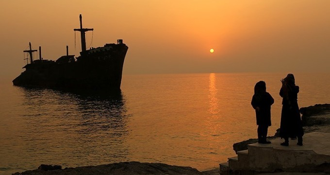کشتی یوانی از جاذبهای کیش